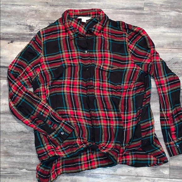 Old Navy Tops - Old Navy the classic shirt plaid flannel XXL 2x